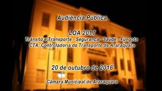 Aud Pub LOA 2017 20-10-2016 PERÍODO NOITE