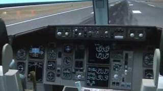 FS2004 SKYMARK Boeing 767-300ER Fukuoka to Tokyo
