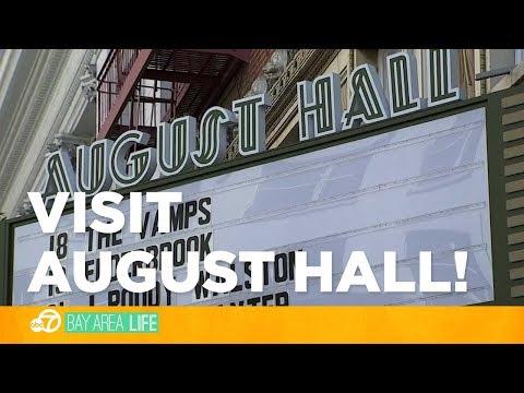 Visit August Hall: A historic San Francisco venue reborn!