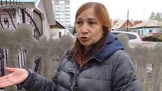 Многодетная семья живет в разрушающемся доме в Бердске
