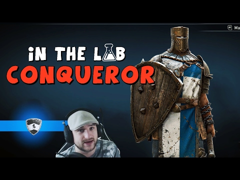 For Honor - In the lab with Conqueror!