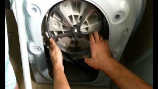 Як замінити ремінь пральної машини