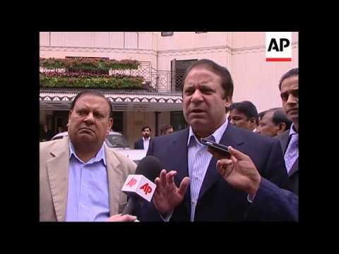 AP exclusive interview with former Pakistani leader Nawaz Sharif
