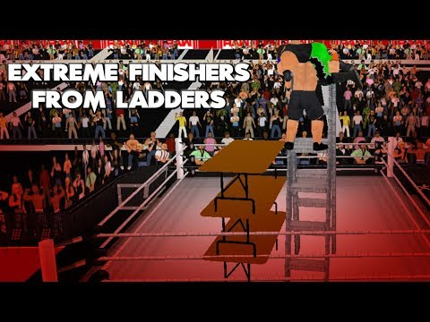 Extreme Finishers from Ladder to Tables - WR3D 2K19