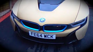 first ride bmw i8 right hand drive