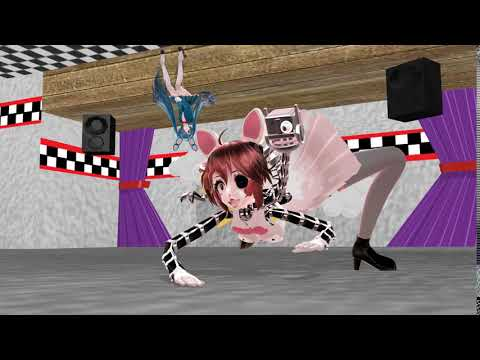 MMD X Fnaf The Mangle Song Animation By Puccagarukiss