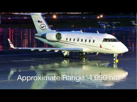 Challenger 604 Private Jet Charter Flights