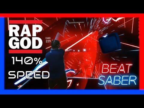 Beat Saber - Rap God - Darth Maul style - 140% speed ...