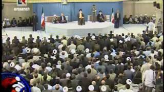 سوتی احمدی نژاد در زمان تنفیذ حکم
