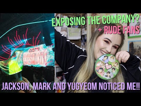 GOT7 EYES ON YOU TOUR EXPERIENCE   I WAS NOTICED BY THE BOYS!! (part 1)