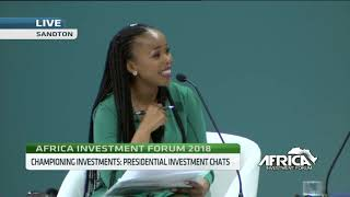 AIF Debate: Presidential investment chats with Osinbajo, Akufo-Addo, Condé, Motsepe