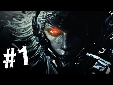 Metal Gear Rising Revengeance Gameplay Walkthrough Part 1 -