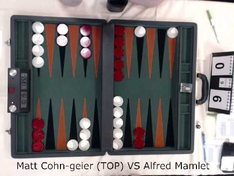 Matt Cohn Geier VS Alfred Mamlett Chicago Open 2013 Main Event