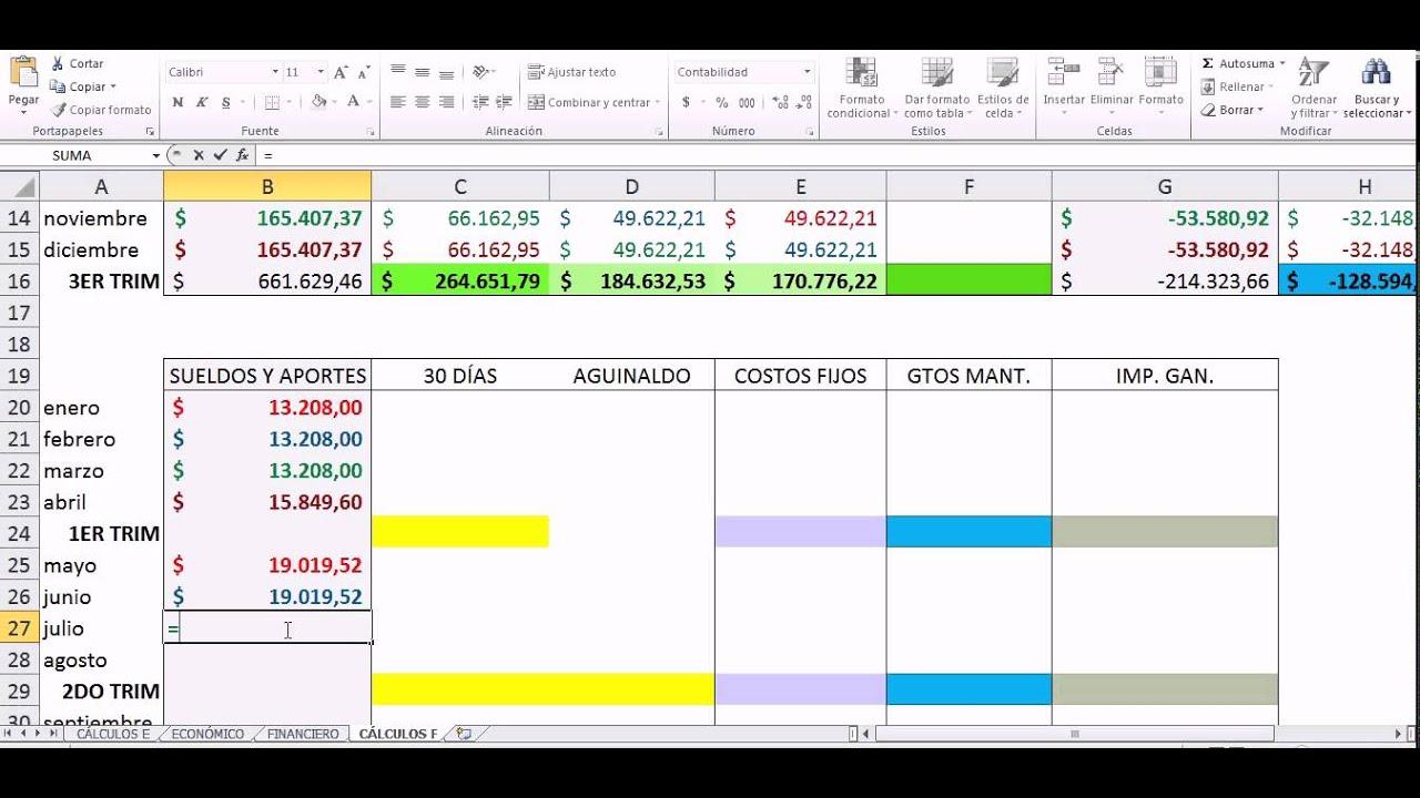 Presupuesto financiero youtube for Presupuesto para una pileta de material