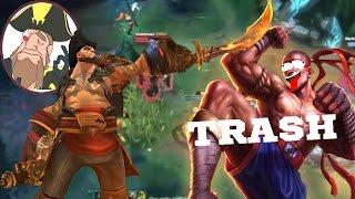 Tobias Fate ARE ALL TOBIAS 39 JUNGLERS TRASH League of Legends