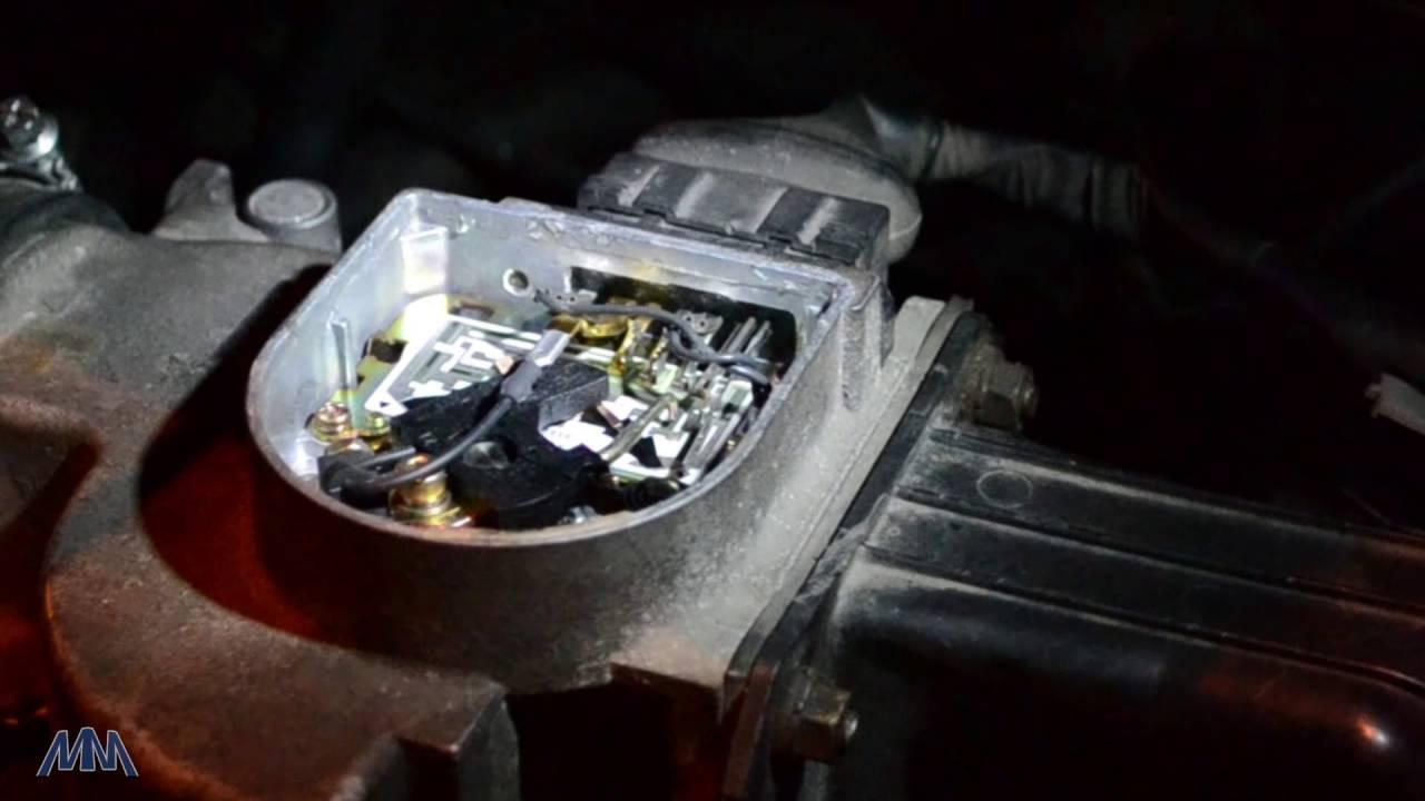 Работа Расходомера Toyota 22RE