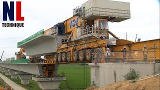 Amazing Modern Bridge Construction Machines - Latest Bridge Construction Technology