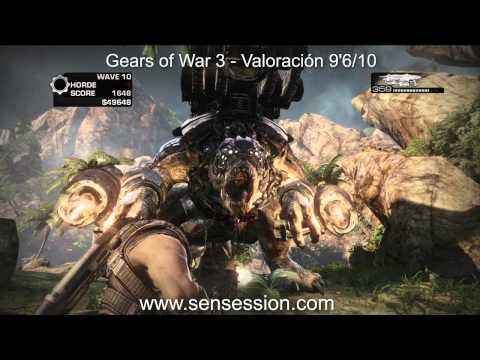 Gears of War 3 analisis review