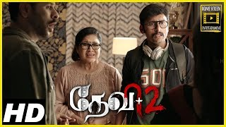 Devi 2 Tamil Movie Scenes | RJ Balaji comes home | Tamannaah drives out RJ Balaji