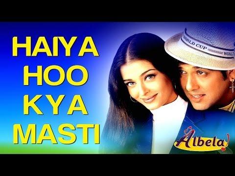 Haiya Hoo Kya Masti - Albela | Aishwarya Rai & Govinda | Alka Yagnik, Kumar Sanu & Udit Narayan
