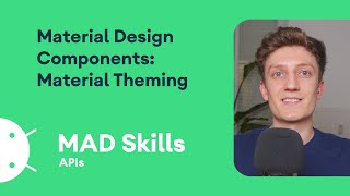 Material Design Components: Material Theming - MAD Skills screenshot 1