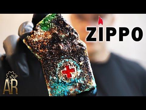 Zippo Lighter Restoration, Vietnam War Repair - Ba Ria 72-73