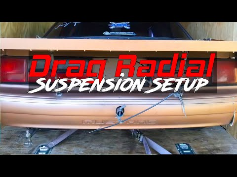 Drag Radial Suspension Setup!! Instant Center, Anti-Squat Explanations.  What Works!