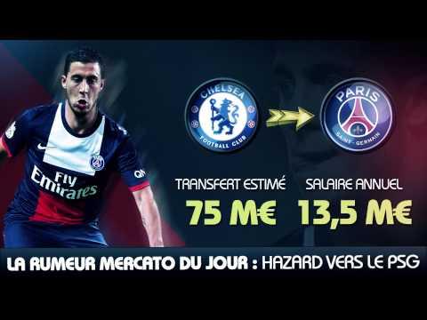 Eden Hazard au PSG pour 75 M€... La rumeur mercato du jour !