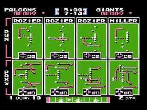 2007 NFL season, TSB style: Falcons-Giants (1/2)