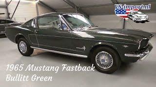 1965 Mustang Fastback Bullitt Green   VS-import.nl