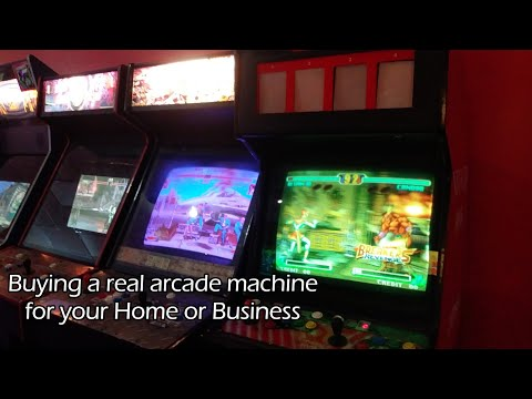 So You Want To Buy An Arcade Machine?
