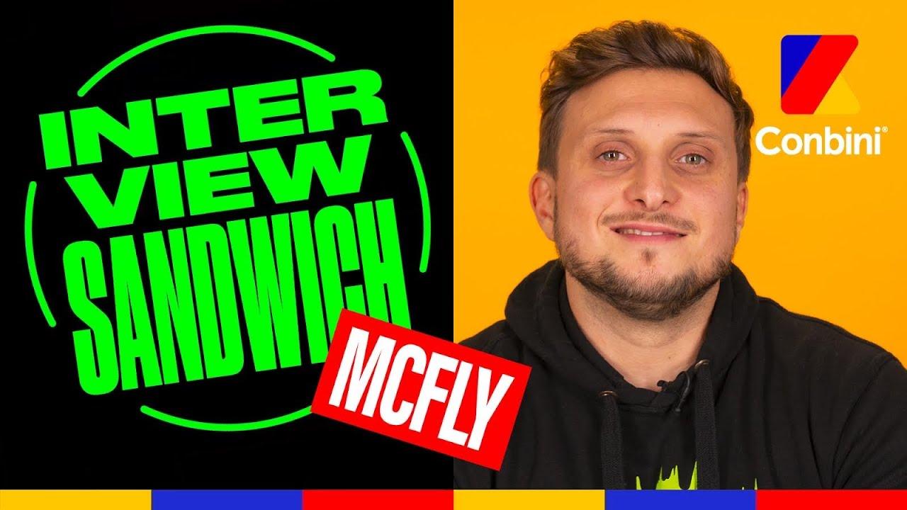 Download Mcfly - «Je m'en suis fait un juste avant de venir » | Interview sandwich