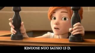 Lietuviškai dubliuotas animacinis filmas BALERINA kinuose nuo sausio 13 d.