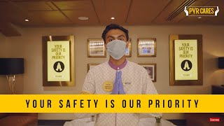 PVR Cares | Your Safety is our Priority