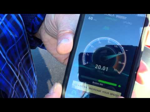 Focal Point Communication Sprint 4G LTE speedtest in Hampton, NH