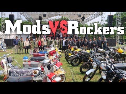 MODS VS ROCKERS 2018, RUSUH !???