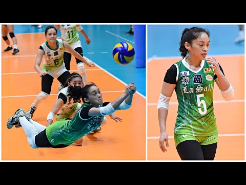 153cm Amazing Volleyball Libero - Dawn Macandili (HD)