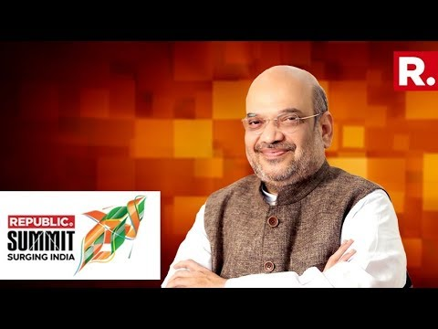 BJP Chief Amit Shah Speaks To Arnab Goswami At Republic Summit 2018 | Full Video