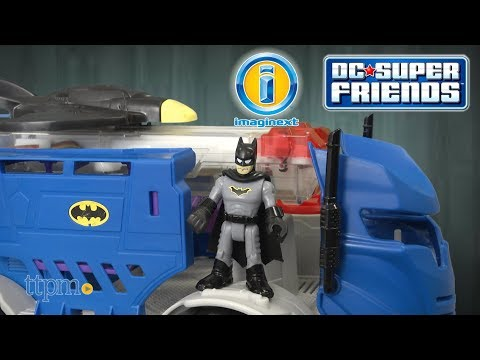 Imaginext DC Super Friends R/C Mobile Command Center From Fisher-Price