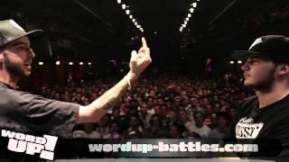 WordUP! 10e Édition: Woodman vs Obélx (Présentation de Kurt & Larry)