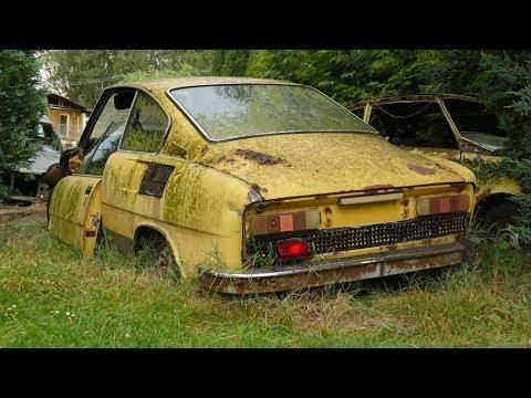 Rezavé Diamanty 2. Škoda Vraky Wrecked - Foto Slideshow