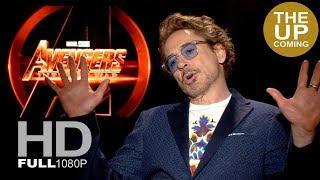 Robert Downey Jr looks back at MCU ten-year history – interview for Avengers Infinity War