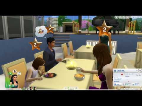 Owning my |Sims4 Dine out (Part 7) |