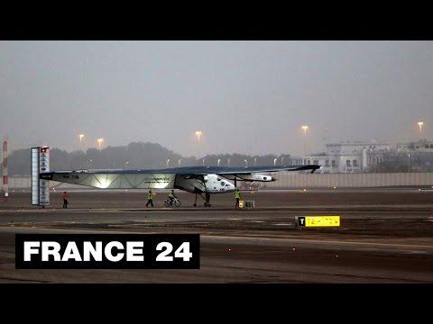 SOLAR IMPULSE - Solar-powered plane starts round-the-world journey