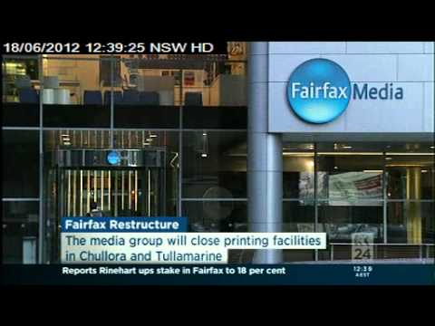 Fairfax Media reveals major structure; 1900 jobs dumped, SMH and The Age to go tabloid.