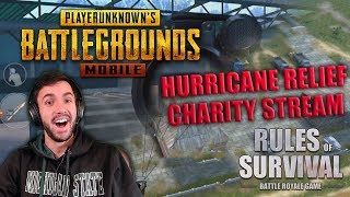 BACK ON ROS PC! // Hurricane Relief Charity Stream // @BobbyBucketsYT