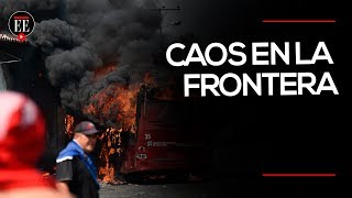 Incendian camiones que transportaban ayuda para Venezuela | El Espectador