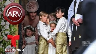 Así fue la boda de ensueño de Pippa Middleton | Al Rojo Vivo | Telemundo