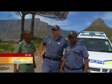 Gavin Bell on Table Mountain National Park