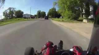 Copie de Kart équipé d'un moteur de R1 (290 km/h)